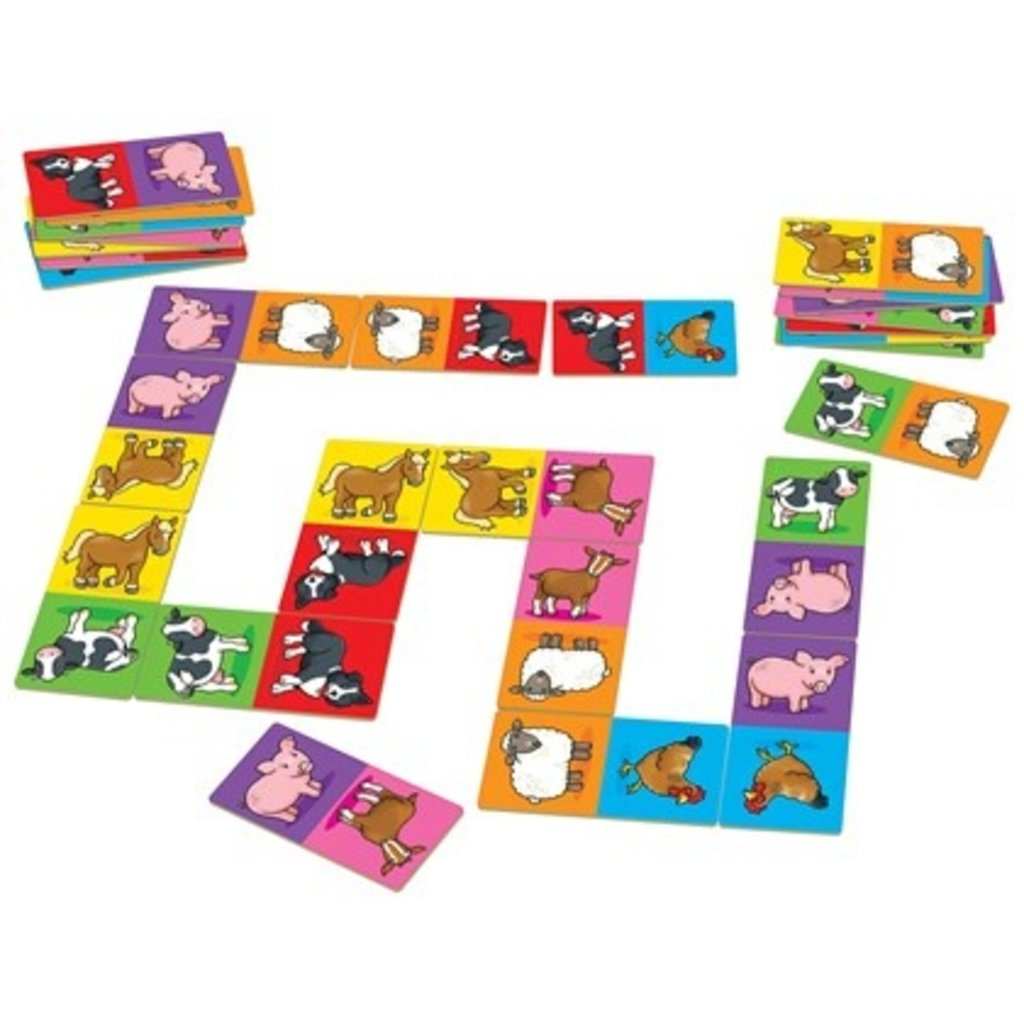 Orchard Orchard toys Farmyard dominoes