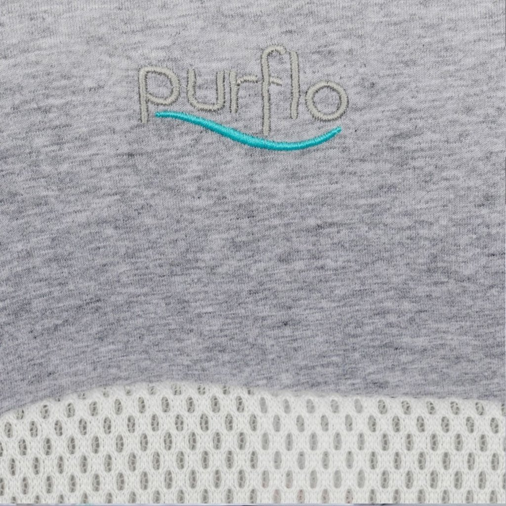Purflo PURFLO BREATHABLE NEST Marl Grey