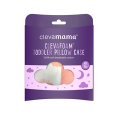 Clevamama ClevaFoam Toddler Pillow Case (Coral)