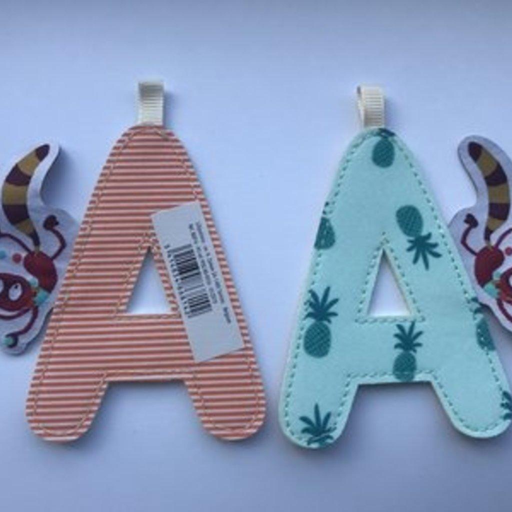Lilliputiens Lilliputiens Fabric Letter A