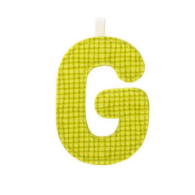 Lilliputiens Lilliputiens Fabric Letters G