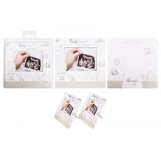 Baby Art Baby Scan Announcement Card