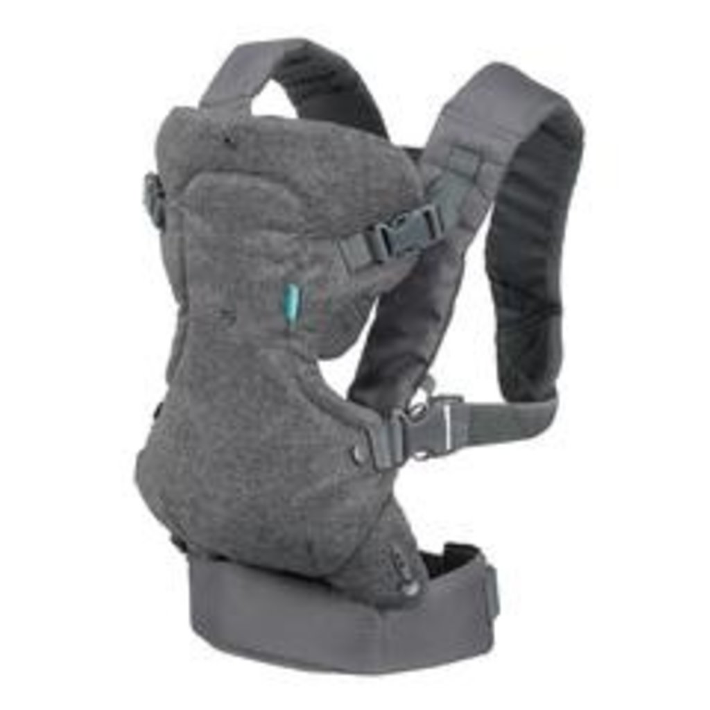 Infantino Infantino Flip Advanced Grey  4in1 Convertible Baby Carrier