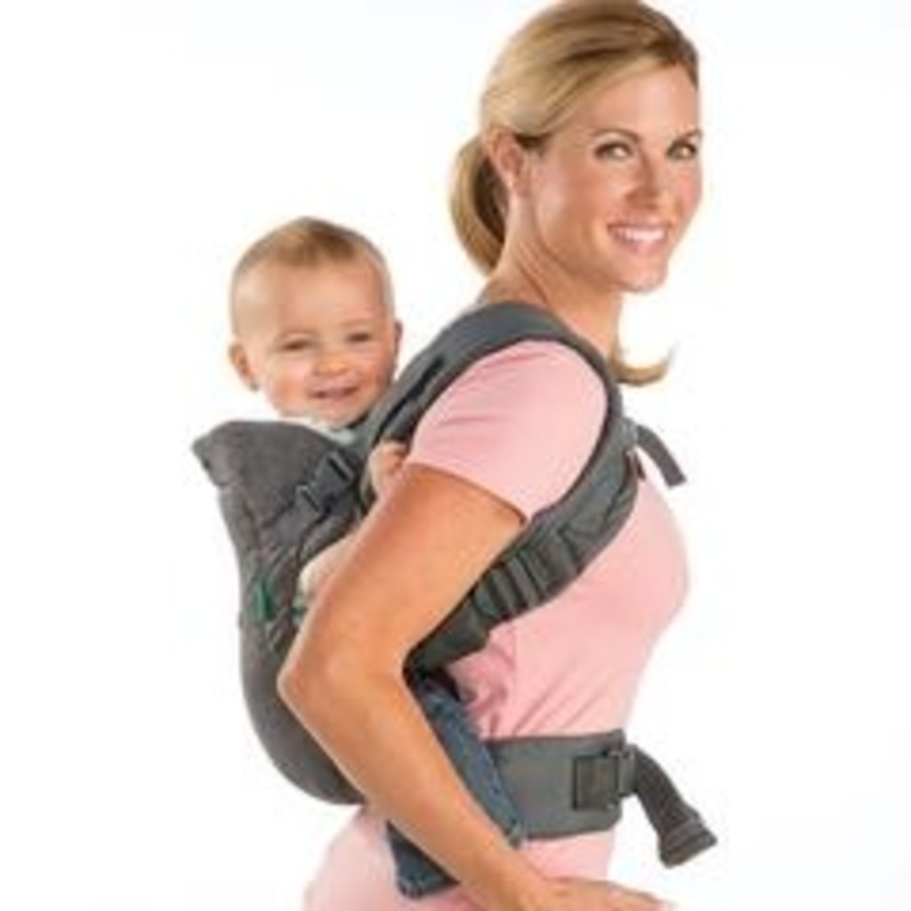 Infantino Infantino Flip Advanced 4 in 1 Baby Carrier Grey