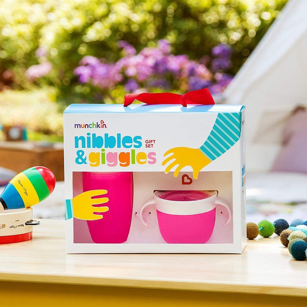 Munchkin Munchkin Nibbles & Giggles Gift Seat Pink