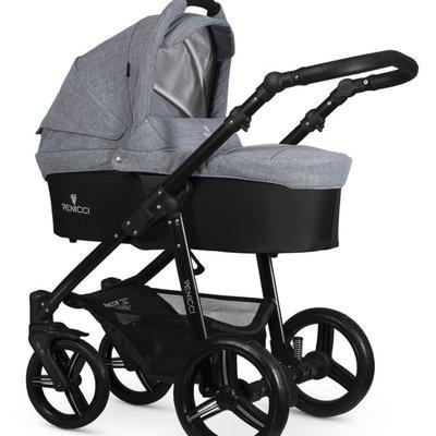 Venicci Venicci Soft Edition Mid Grey w Black Chassis