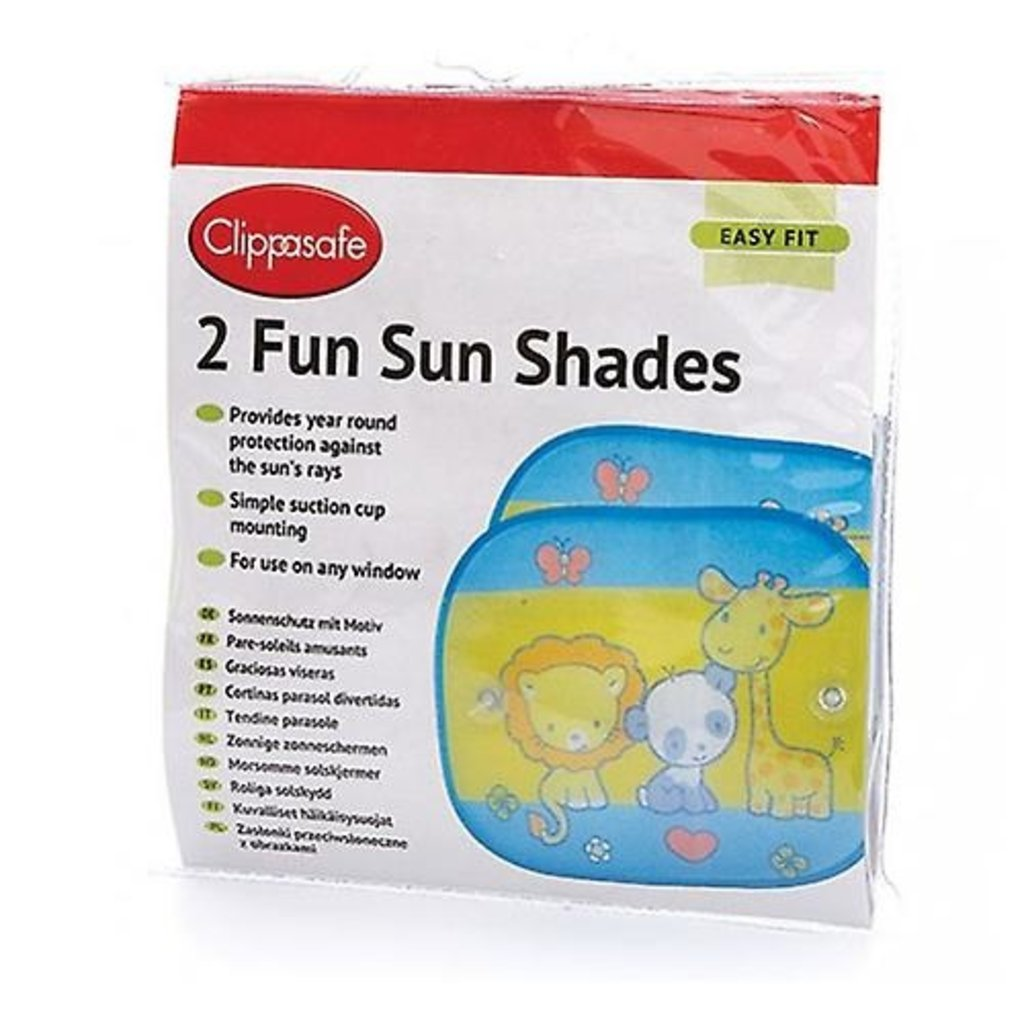 Clippasafe Clippasafe Fun Sun Shade (2-Pack)