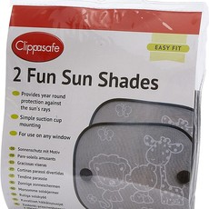 Clippasafe Clippasafe 2 Fun Sun Shades - Safari