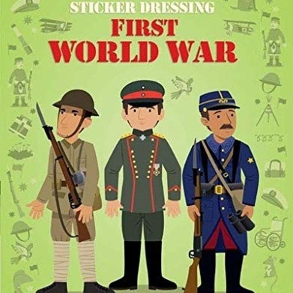 Sticker Dressing Book First World War