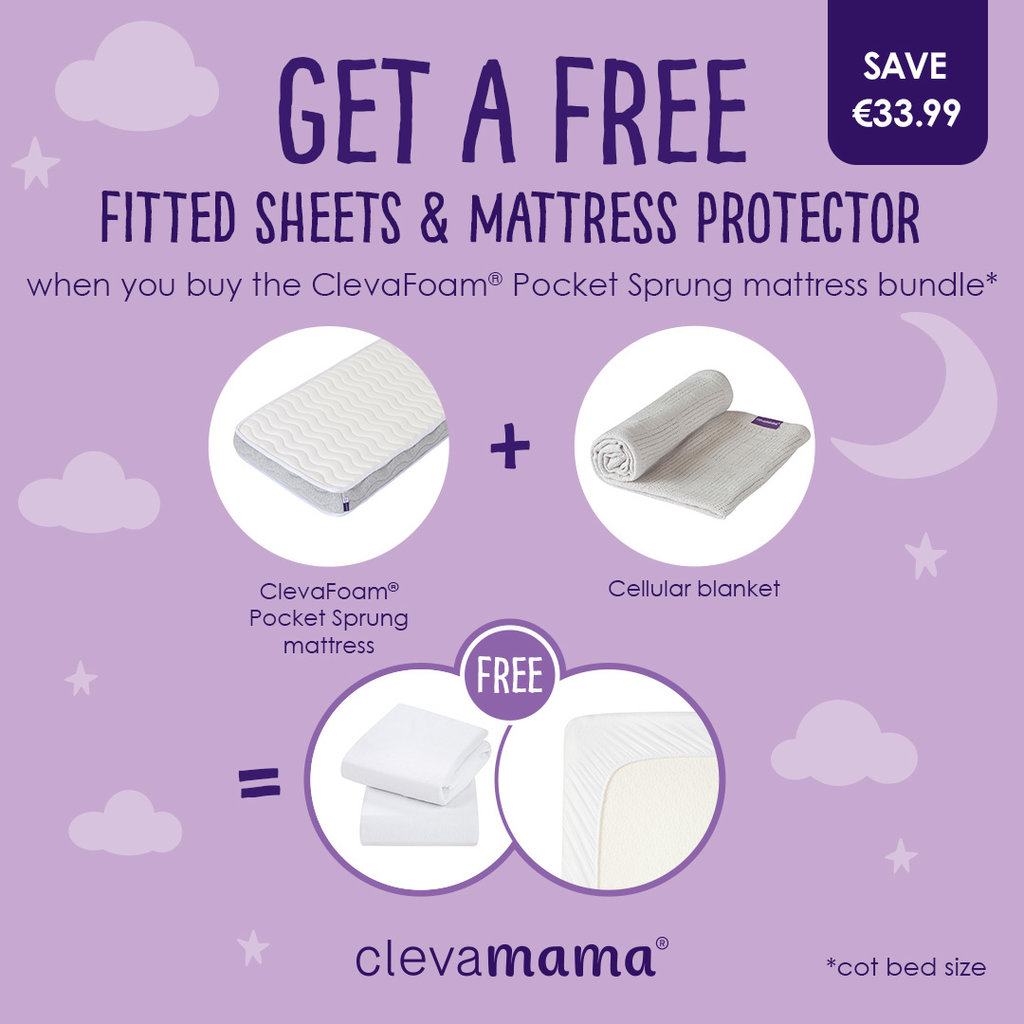 Clevamama Clevafoam Pocket Sprung Mattress Bundle