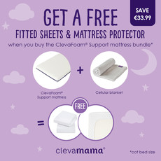 Clevamama Clevafoam Support Mattress Bundle