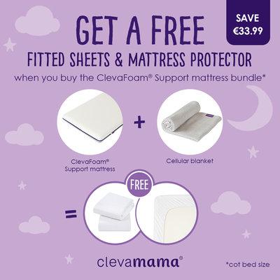 Clevamama Clevafoam Support Mattress Bundle