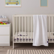 Clevamama Clevamama Cellular Cot/Cotbed White