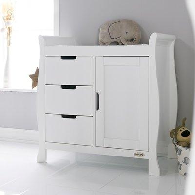 Obaby Stamford Changing Unit - White