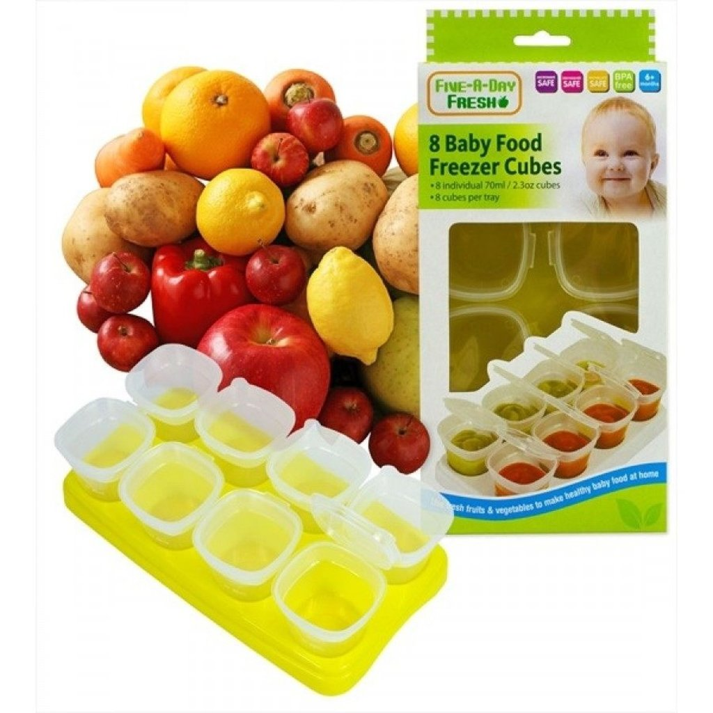 First Steps Baby Food Freezing Cubes
