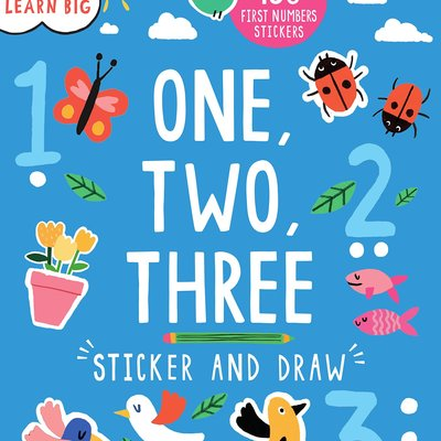 One, Two, Three - Sticker and Draw