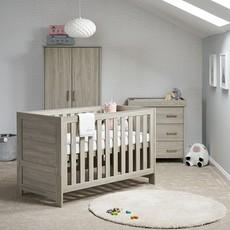 Obaby Obaby Nika Cot Bed – Grey Wash