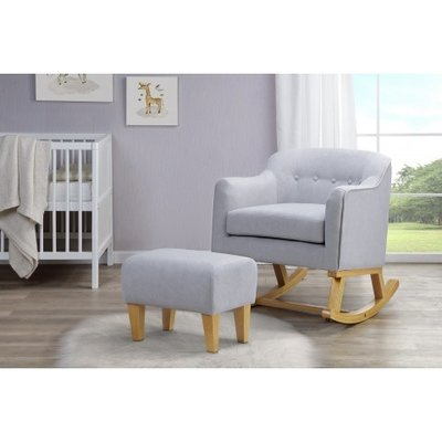 Babylo BabyLo Haven Rocking Chair & Footstool