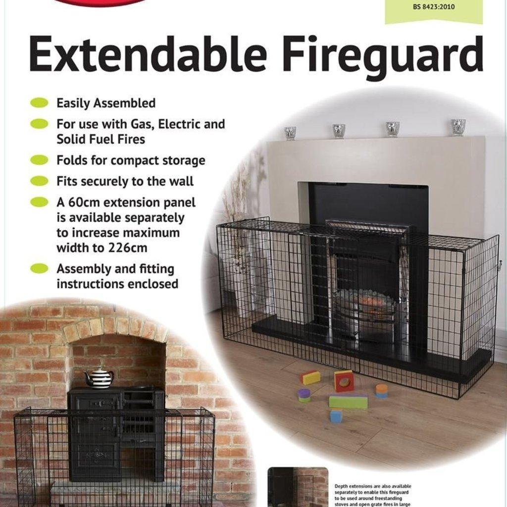 Clippasafe Clippasafe Extendable Fireguard (94x174)