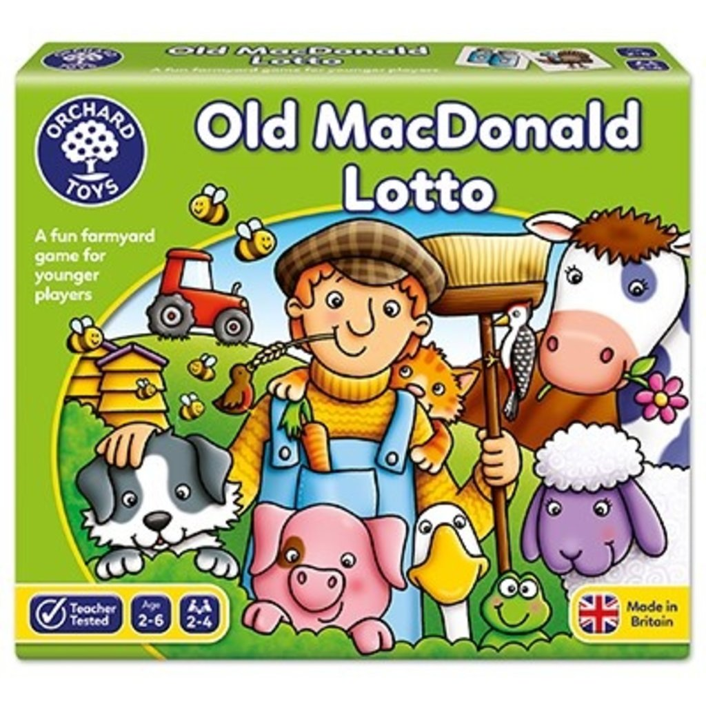 Orchard Orchard Toys Old Macdonald Lotto