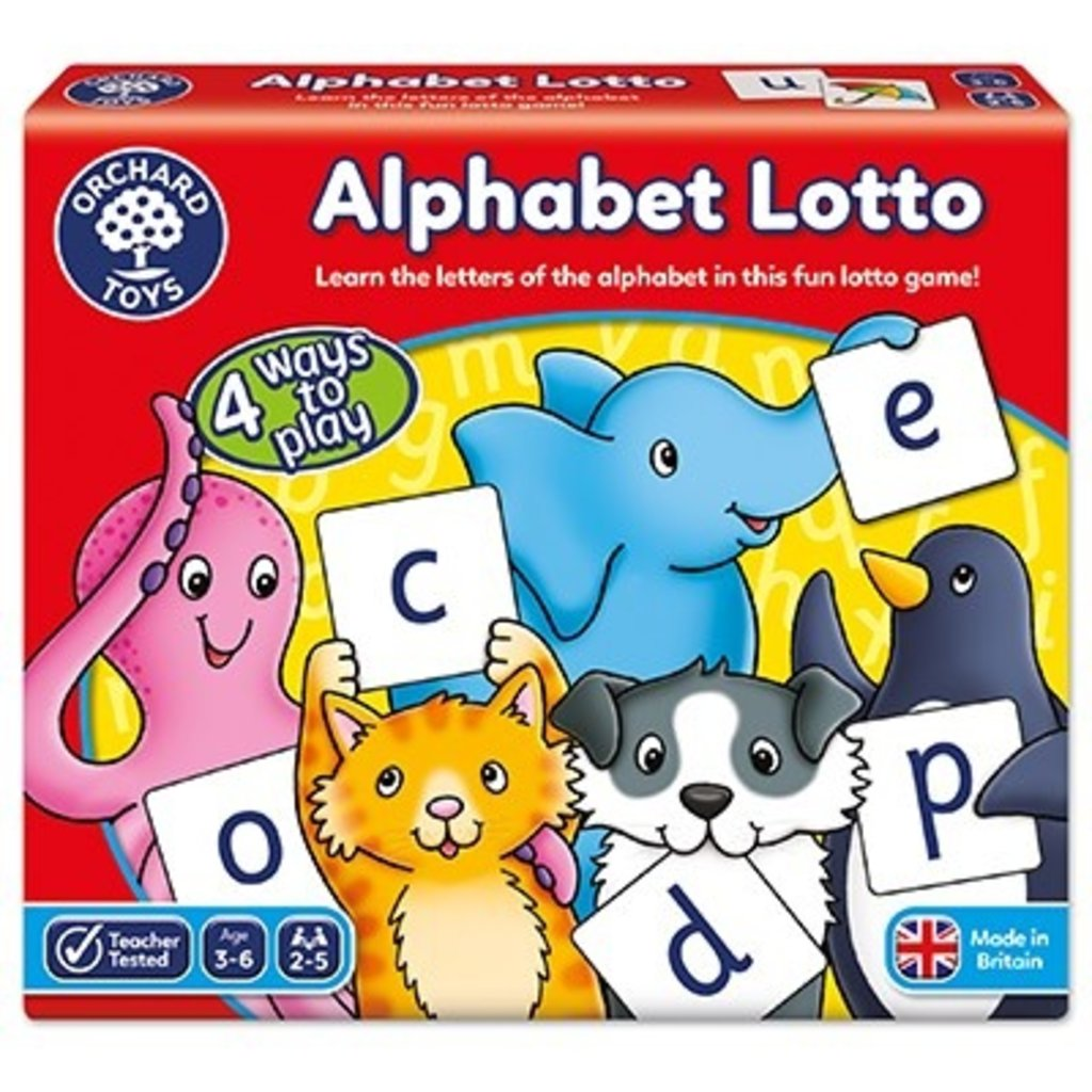 Orchard Orchard Toys Alphabet Lotto
