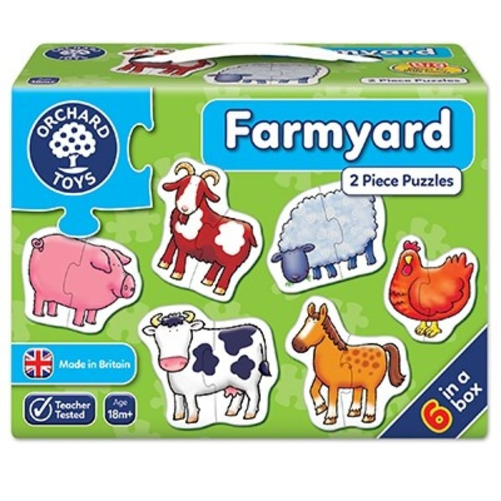 Orchard Orchard Toys Farmyard Jigsaw