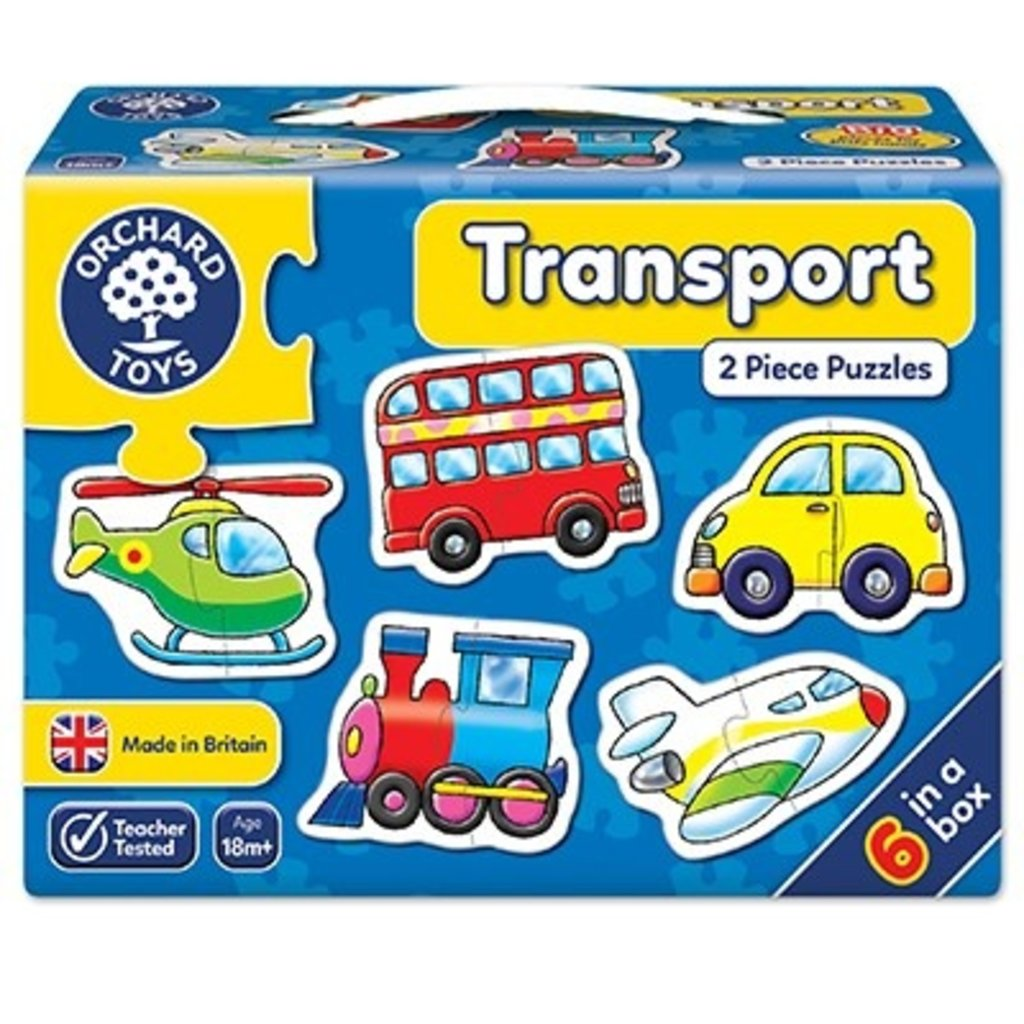 Orchard Orchard Toys Transport Jigsaw
