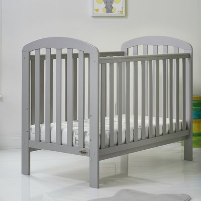 Obaby OBaby Lily Cot Warm Grey