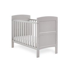 Obaby Obaby Grace Mini Cot Bed – Warm Grey