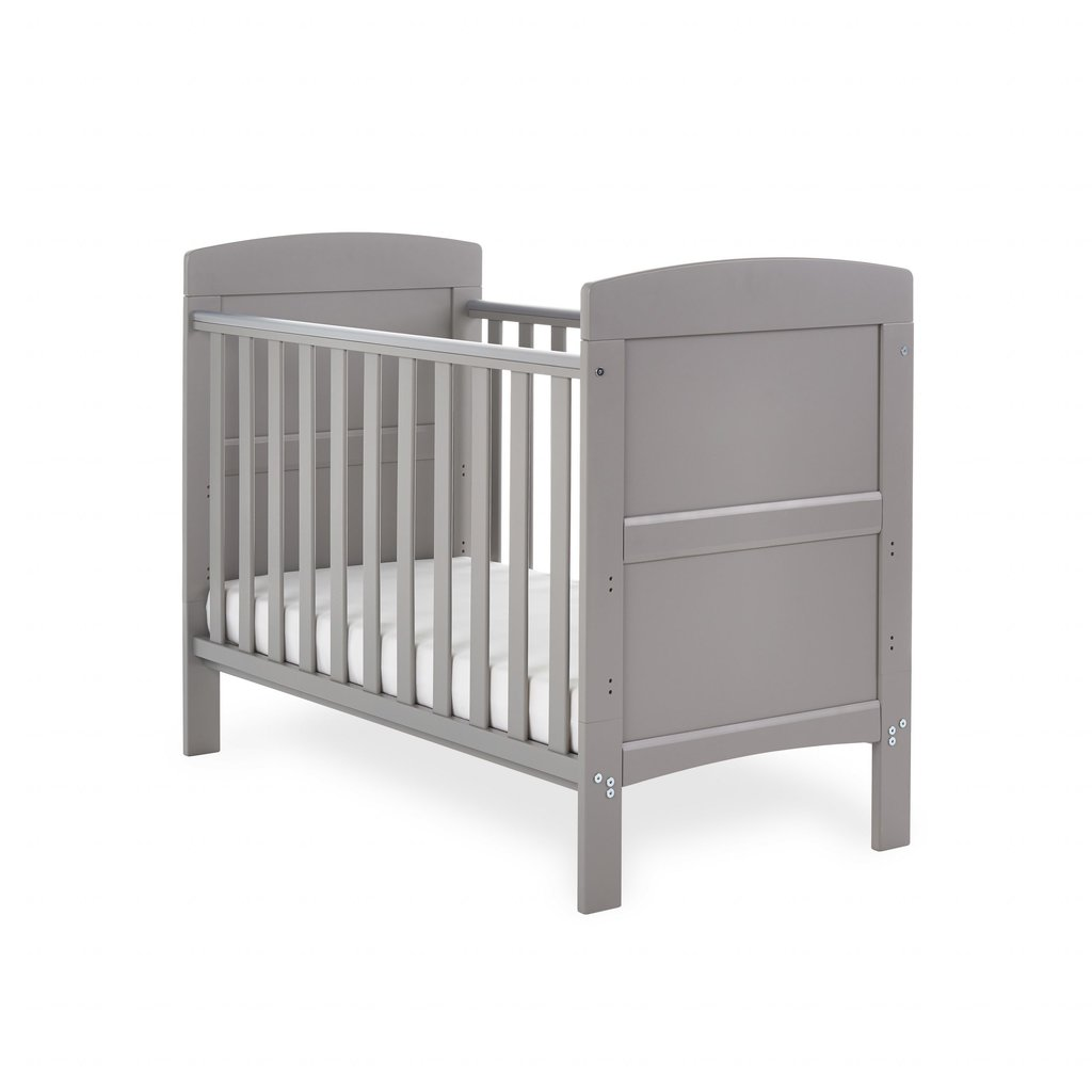Obaby Obaby Grace Mini Cot Bed – Taupe Grey