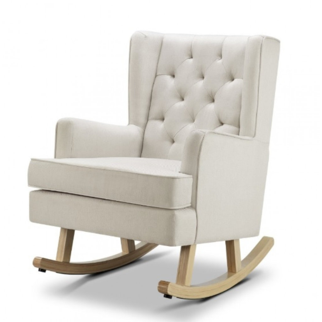 Babylo Soothe Easy Rocking Chair Natural