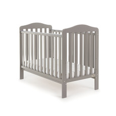 Obaby Obaby Ludlow Cot - Taupe Grey
