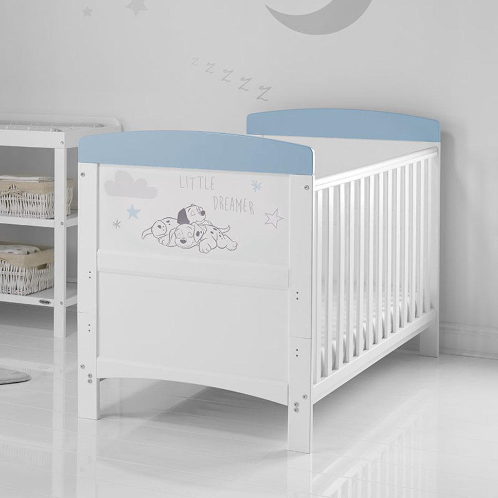 Obaby Obaby Disney Inspire 101 Dalmatians Cot Bed – Little Dreamer