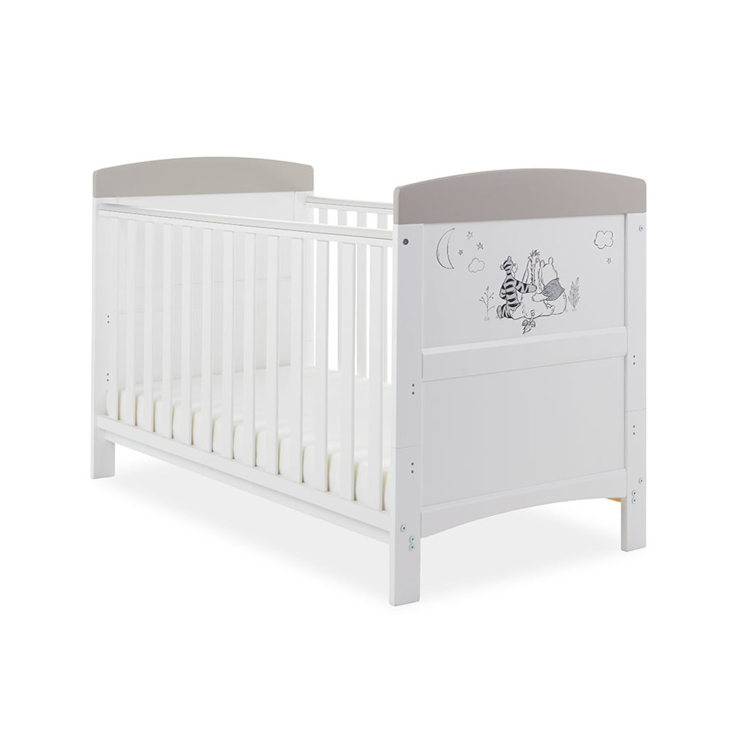 Obaby Obaby Disney Inspire Winnie the Pooh Cot Bed – Looking Out At Night