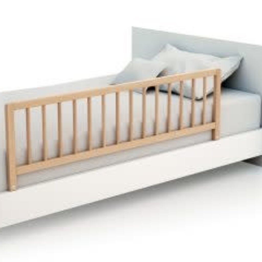 Bed Safety Rail Natural 119x36x5.5c