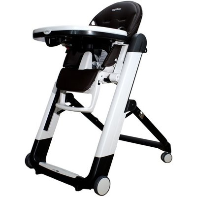 PegPerego Peg Perego Siesta Follow Me Highchair - Licorice