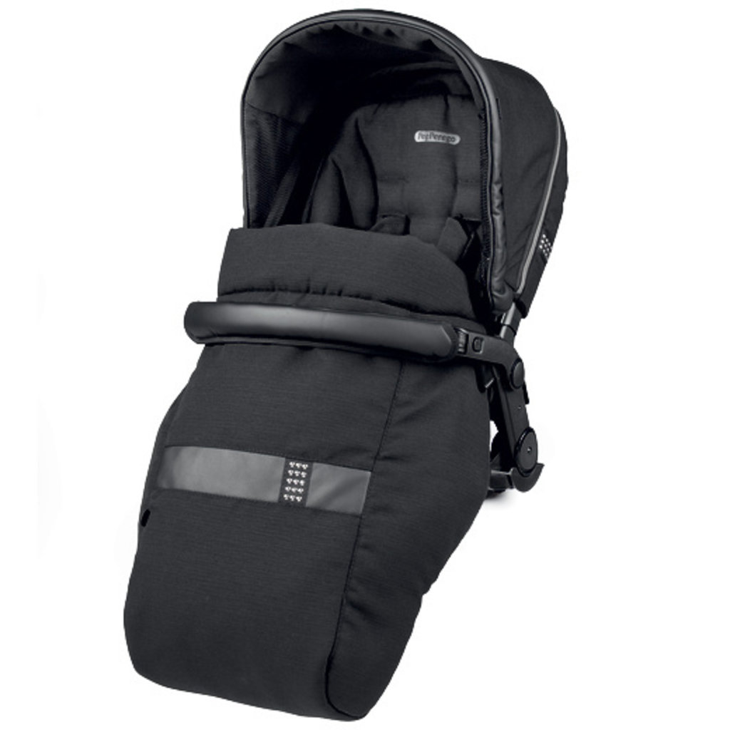 PegPerego Book Modular System Seat - Rock Black