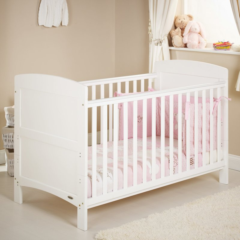 Obaby Obaby Grace  Cot Bed – White