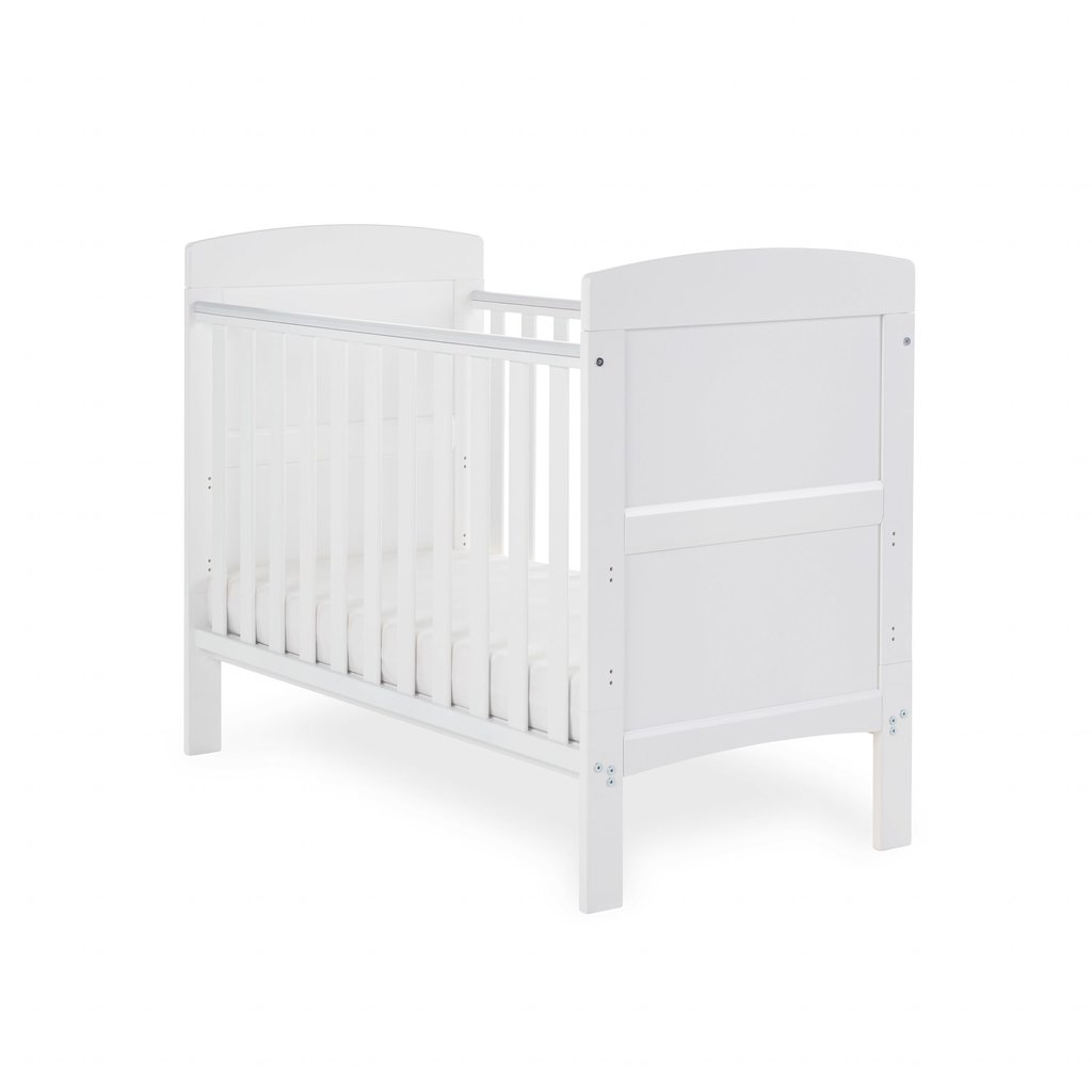 Obaby Obaby Grace Mini Cot Bed – White