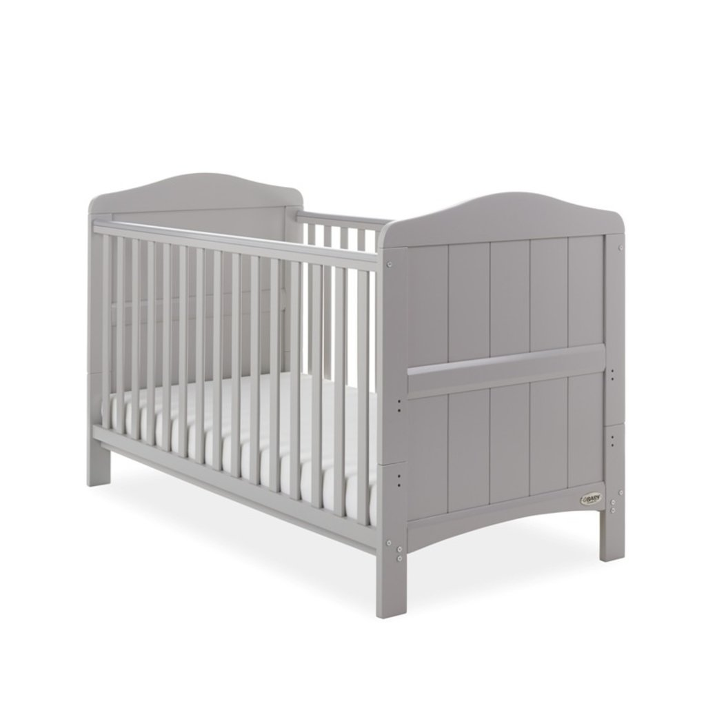 Obaby Obaby Whitby Cot Bed – Warm Grey