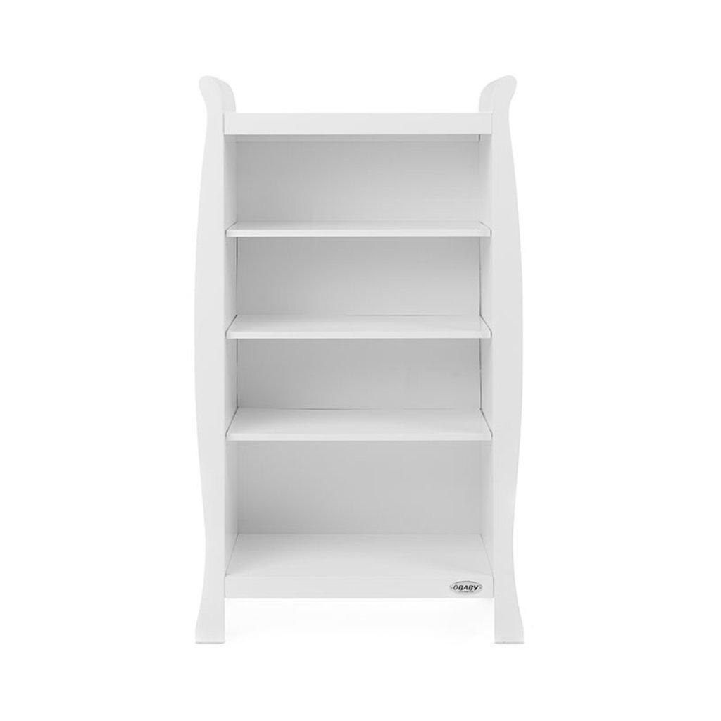 Obaby Obaby - Stamford Sleigh Bookcase – White