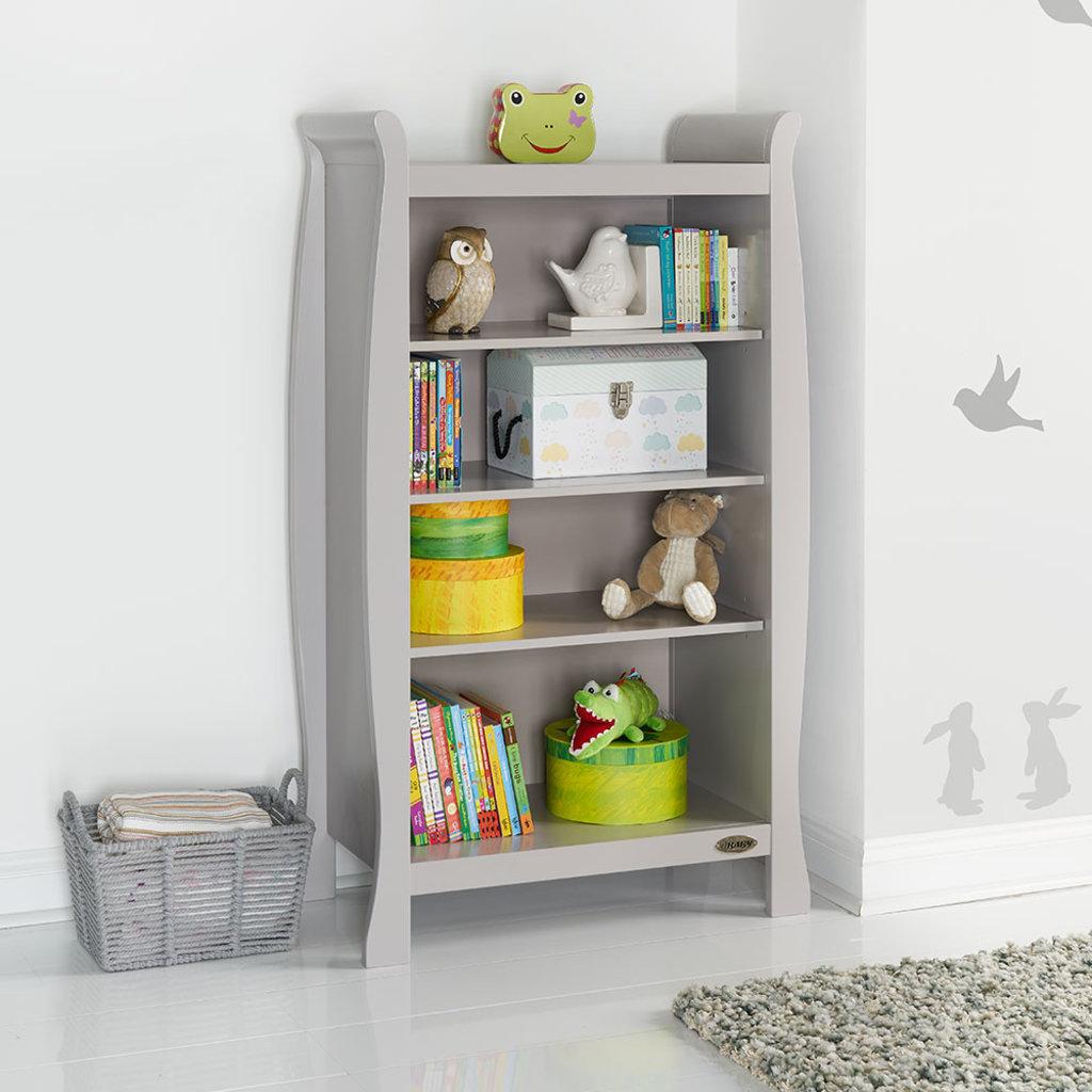 Obaby Obaby - Stamford Bookcase - Warm Grey