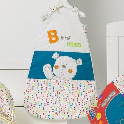 Obaby Obaby - Bear Sleeping Bag (0-6 Months, Happy Safari)