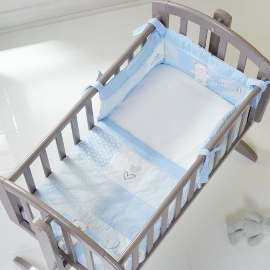 Obaby Obaby - B is for Bear Crib Set - Blue