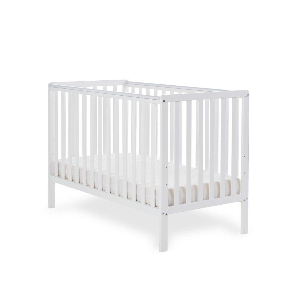 Obaby Obaby - Bantam Cot Bed – White