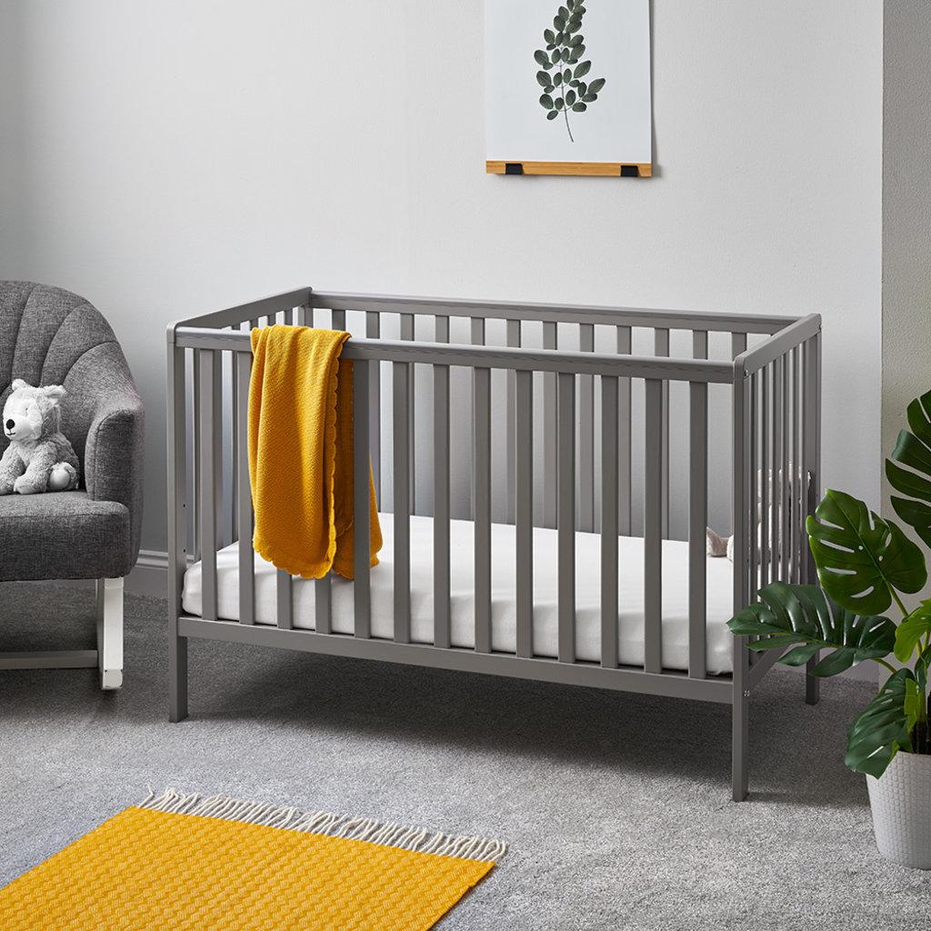 Obaby Obaby - Bantam Cot Bed – Taupe Grey