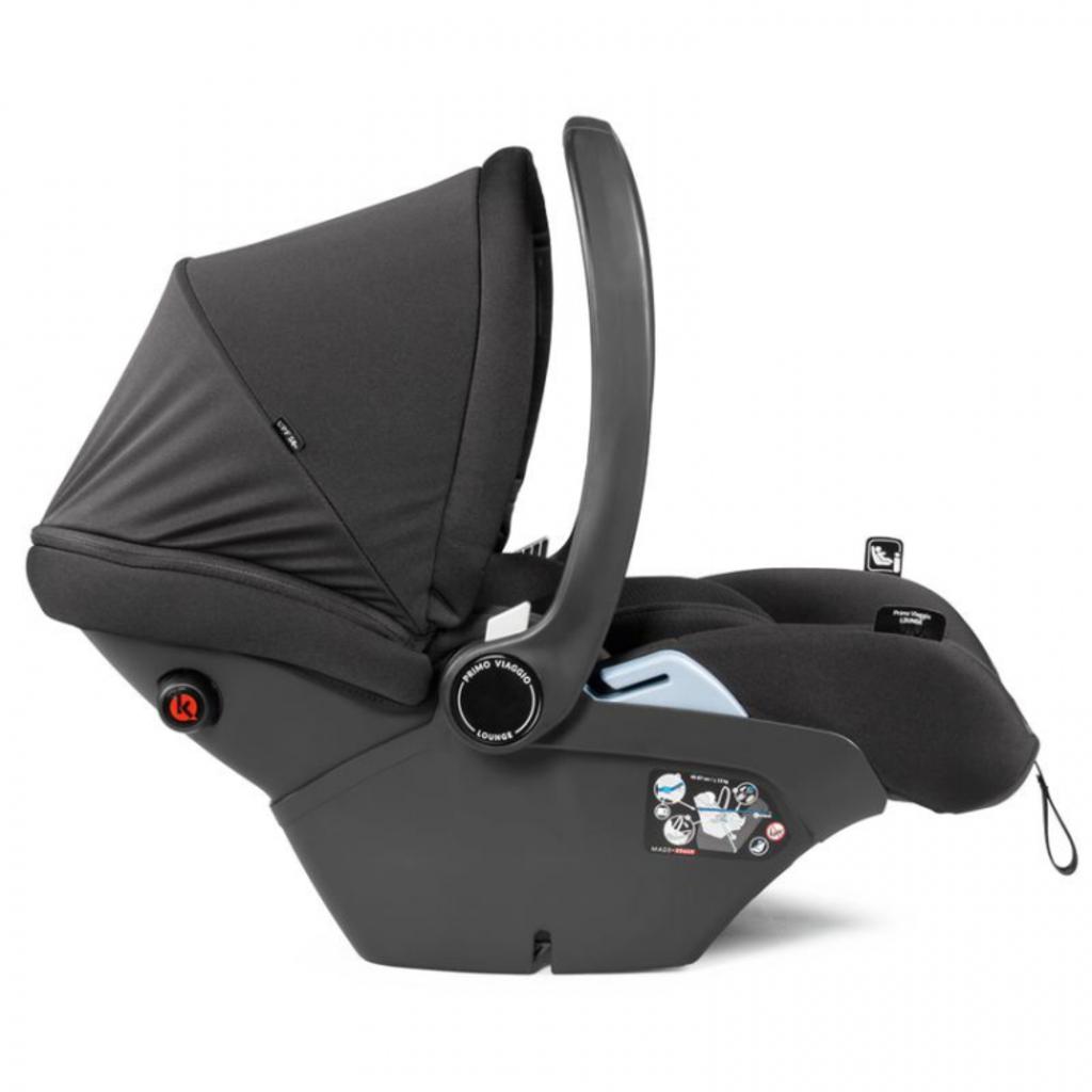 PegPerego Peg Perego Primo Viaggio Lounge Reclinable i-Size Infant Car Seat - Onyx