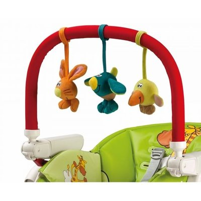 PegPerego Peg Perego Play Bar with Plush Toys