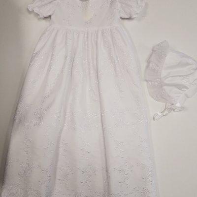 visara Visara Christening Gown 6-12