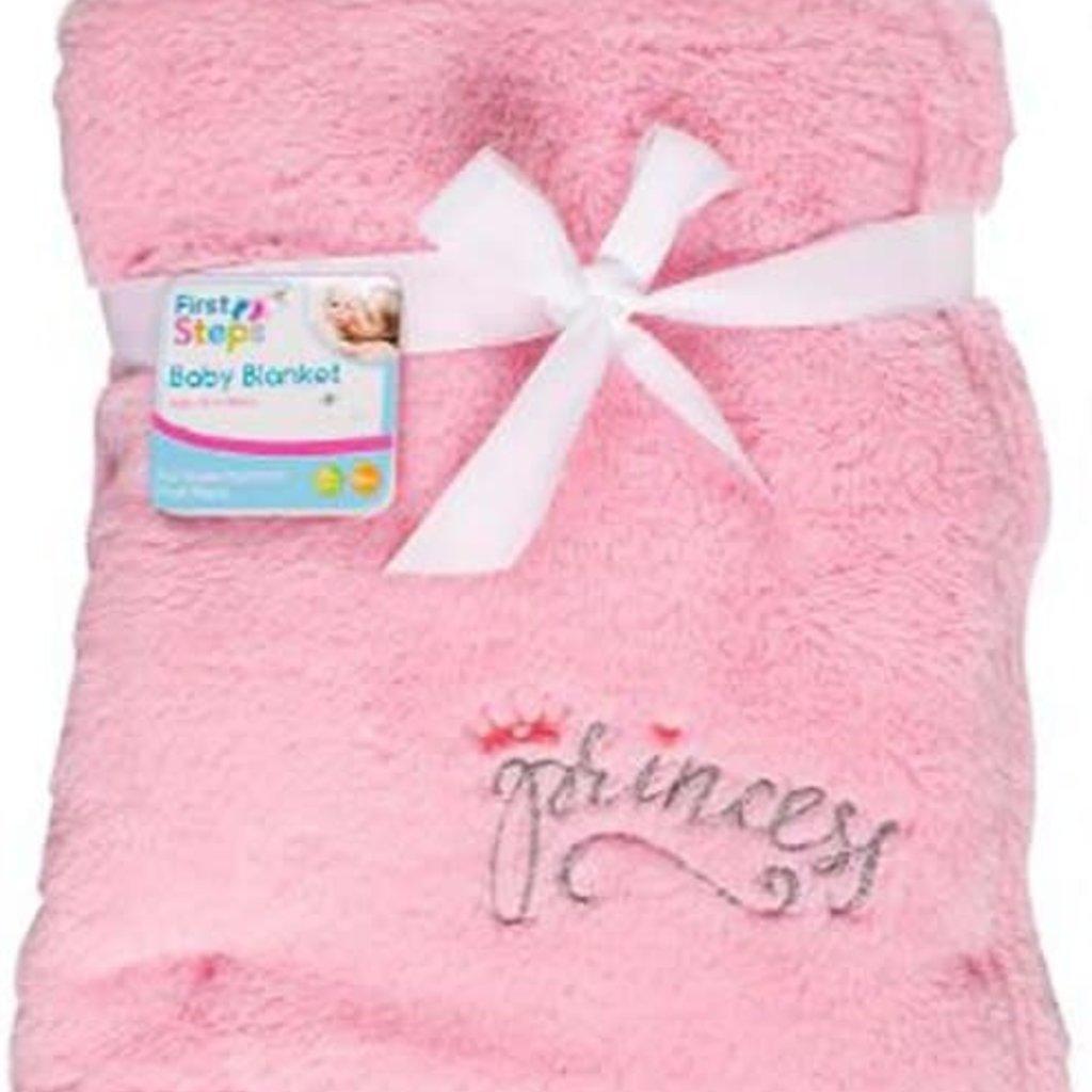 Princess Fleece Blanket -Pink